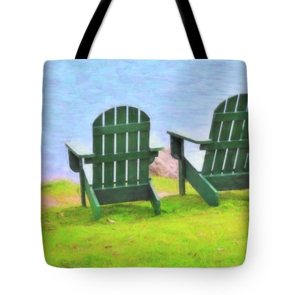 Waiting For You Tote Bag by Betty LaRue