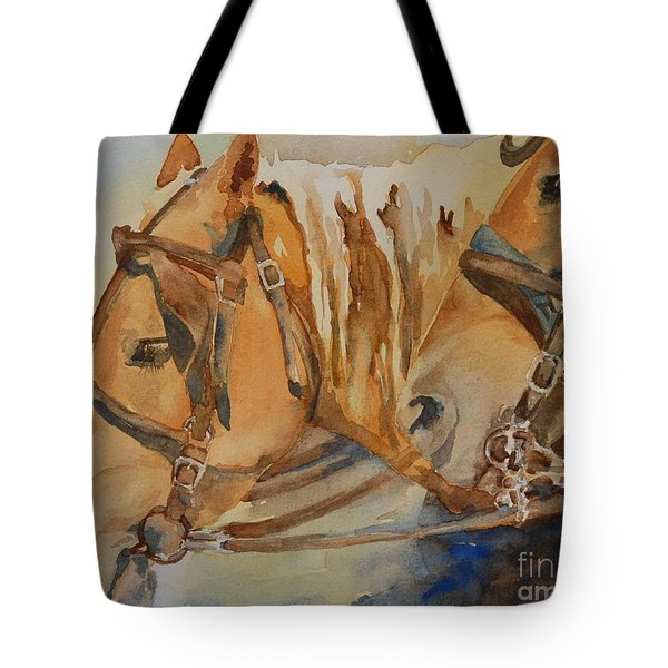 Waiting Patiently Tote Bag by Gretchen Bjornson