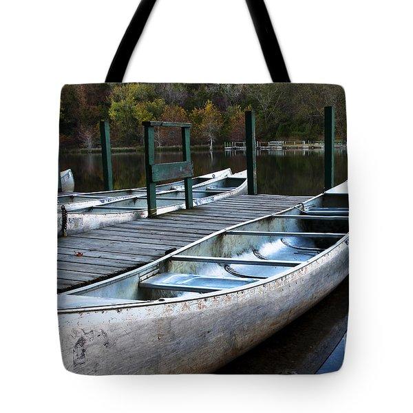 Waiting Tote Bag by Tamyra Ayles