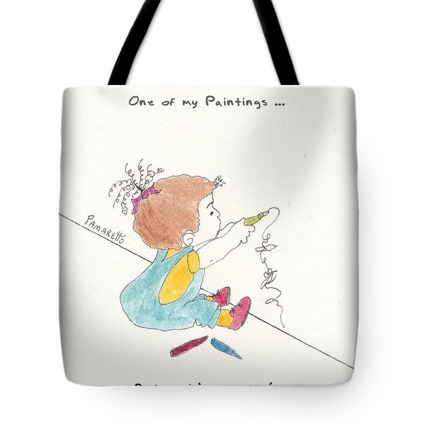 Wall Art Tote Bag by Pamela Allegretto