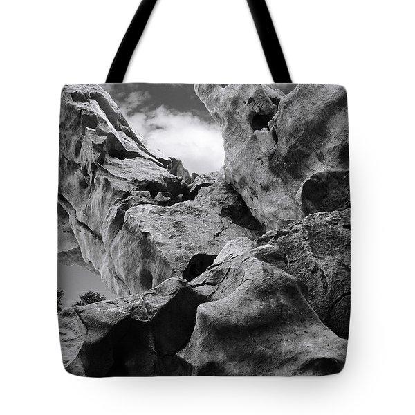 Ward Off Evil Spirits Tote Bag by Christine Till