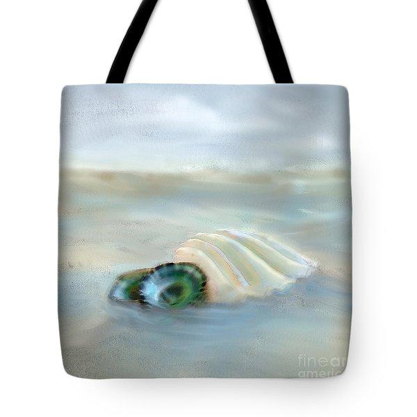 Washing Away Tote Bag by Betty LaRue