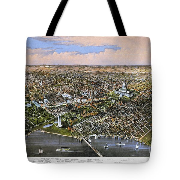Washington, D.c., 1880 Tote Bag by Granger