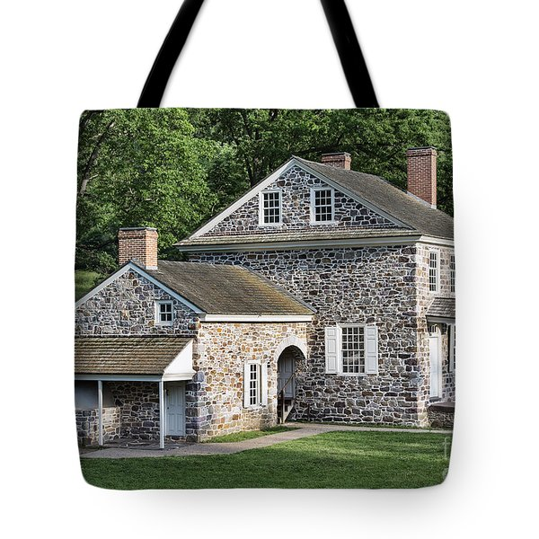 Washington's Headquarters At Valley Forge Tote Bag by John Greim