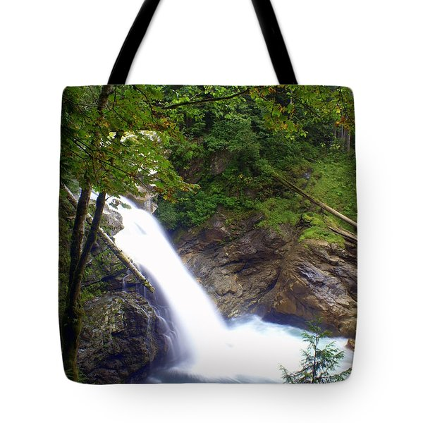 Washngton Falls1 Tote Bag by Marty Koch
