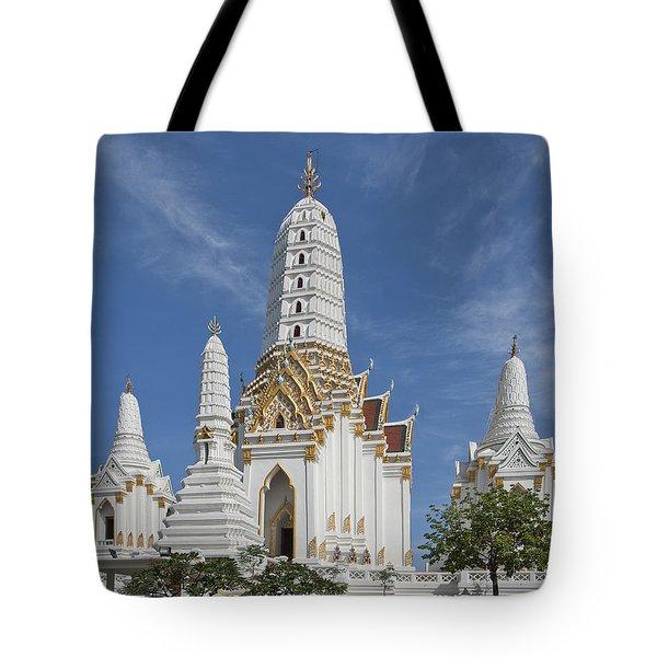 Wat Phitchaya Yatikaram Prangs Dthb1186 Tote Bag by Gerry Gantt