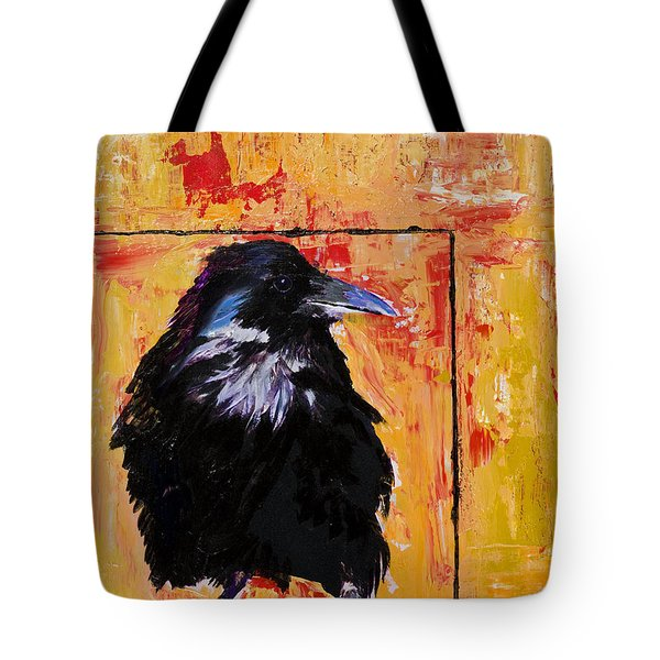 Watch And Learn Tote Bag by Pat Saunders-White