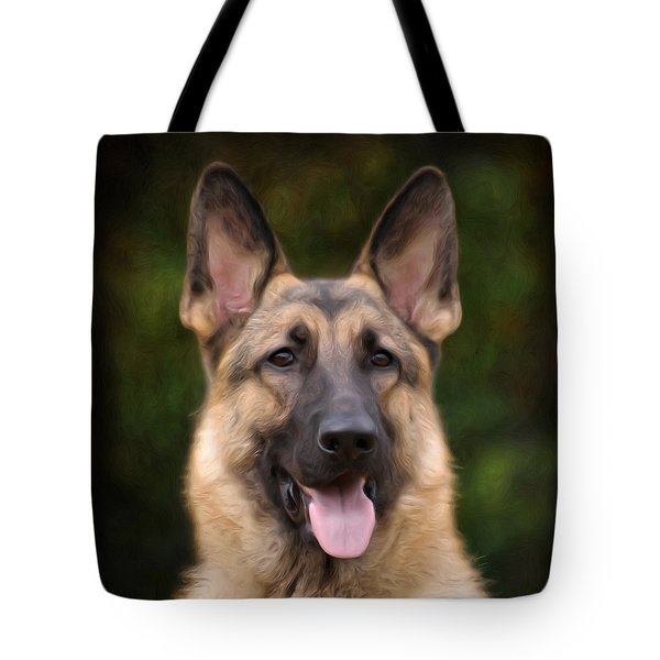 Watchful Tote Bag by Sandy Keeton