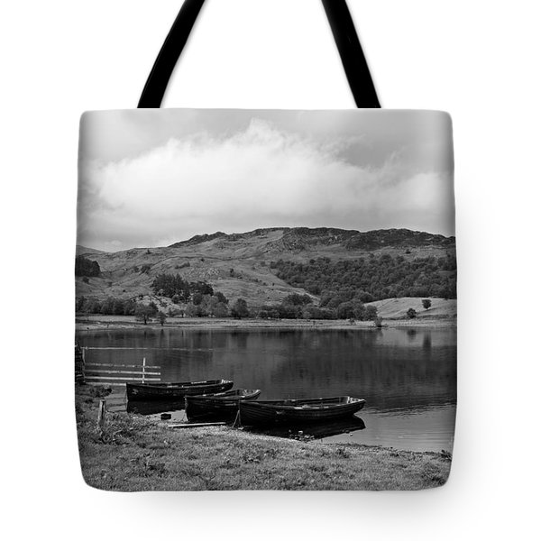 Watendlath Tarn In The Lake District Cumbria Tote Bag by Louise Heusinkveld