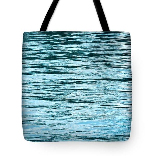 Water Flow Tote Bag by Steve Gadomski