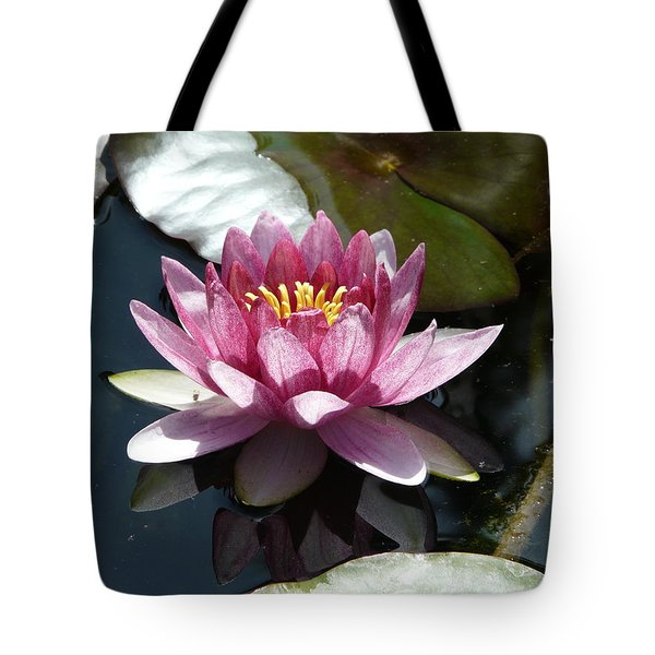 Water Lily 2 Tote Bag by Valerie Ornstein