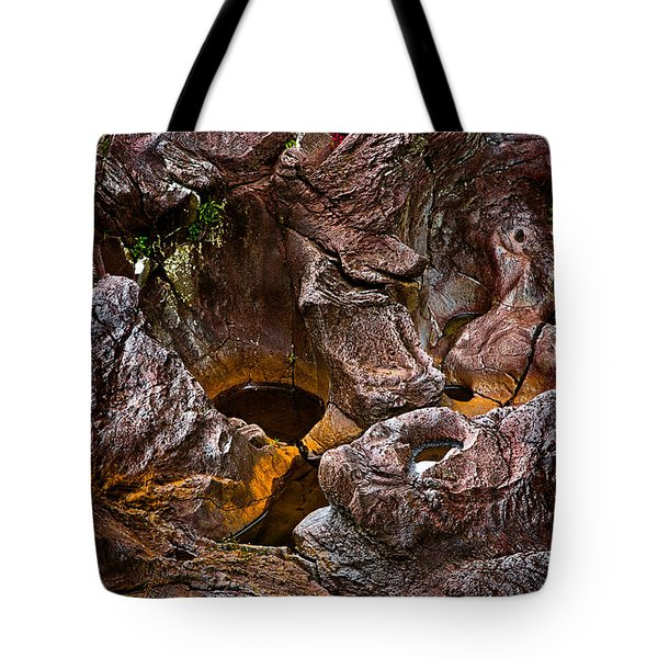 Water Sculpted Tote Bag by Christopher Holmes