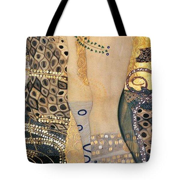 Water Serpents I Tote Bag by Gustav klimt