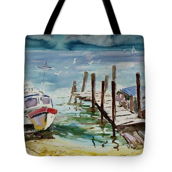 Water Taxis Tote Bag by Xueling Zou