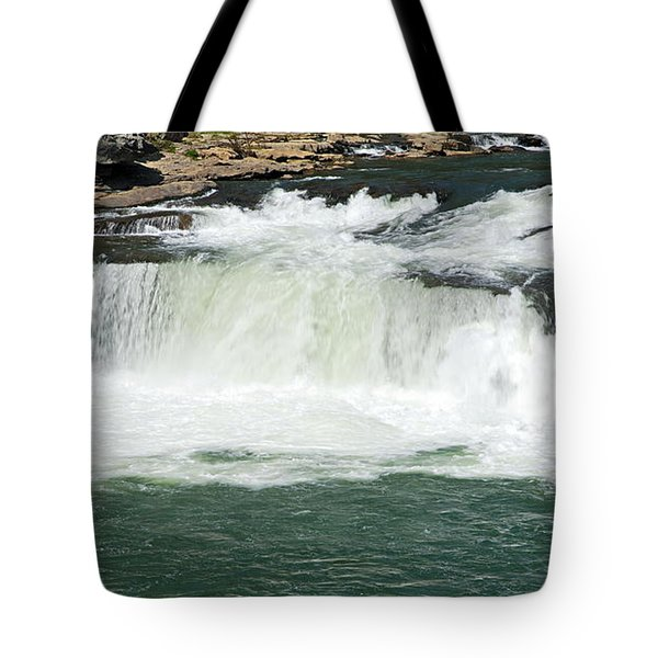 Waterfall at Ohiopyle State Park Tote Bag by Larry Ricker