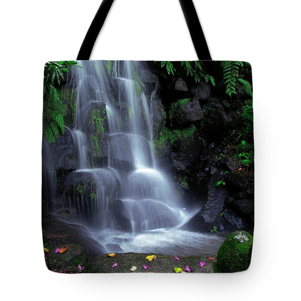 Waterfall Tote Bag by Carlos Caetano