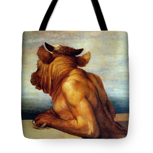 Watts: The Minotaur Tote Bag by Granger