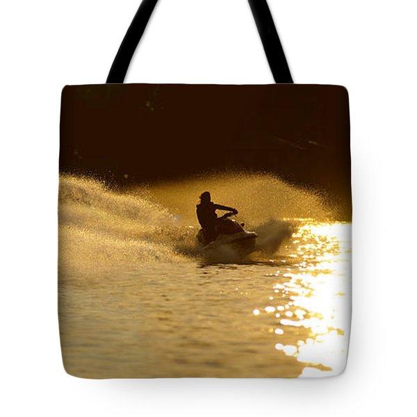 Waverunner Weekend Tote Bag by Steve Gadomski