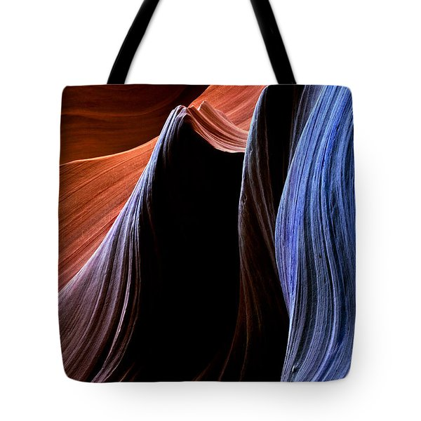 Waves Tote Bag by Mike  Dawson