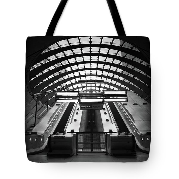 Way Out Tote Bag by Ivo Kerssemakers