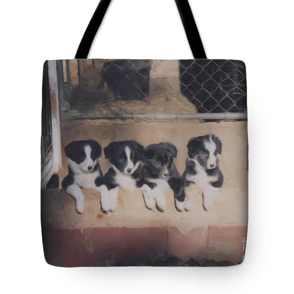Way Too Cute Tote Bag by Smilin Eyes  Treasures