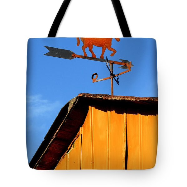 Weathervane Tote Bag by Robert Lacy