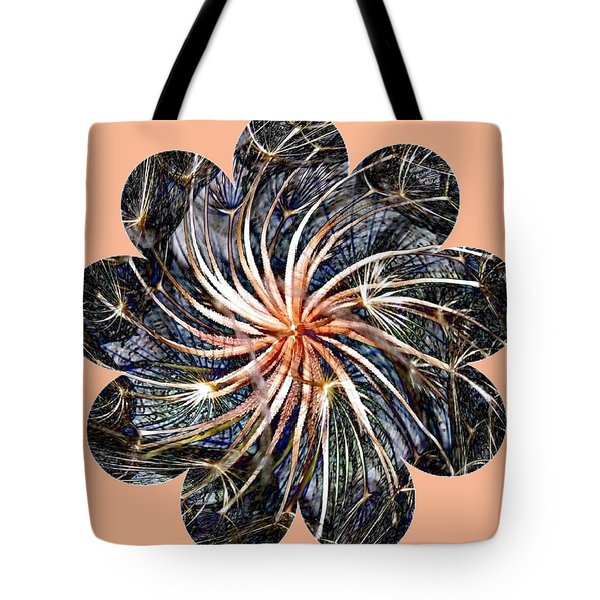 Weed Whirl Tote Bag by Will Borden