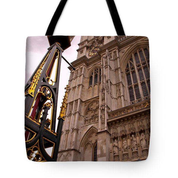 Westminster Abbey London England Tote Bag by Jon Berghoff