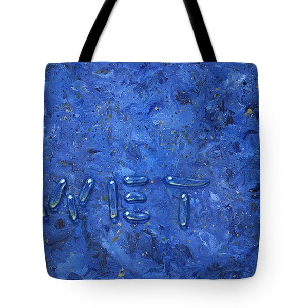 WET Tote Bag by James W Johnson