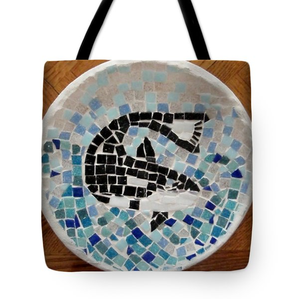 Whale Tote Bag by Jamie Frier