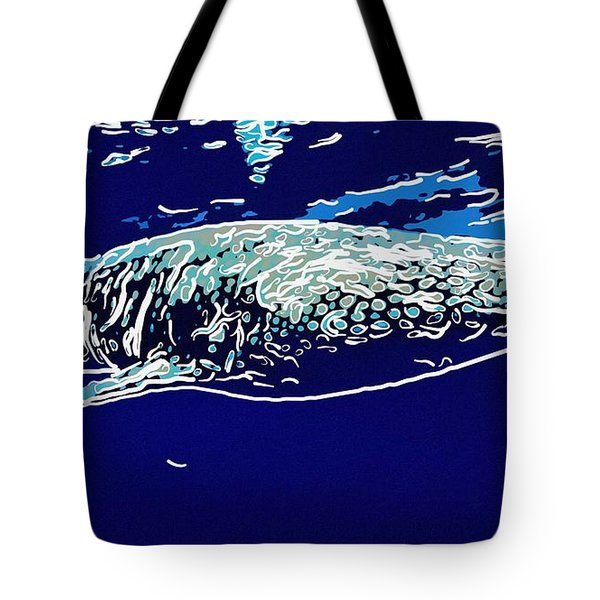 Whaleshark  Tote Bag by Lanjee Chee