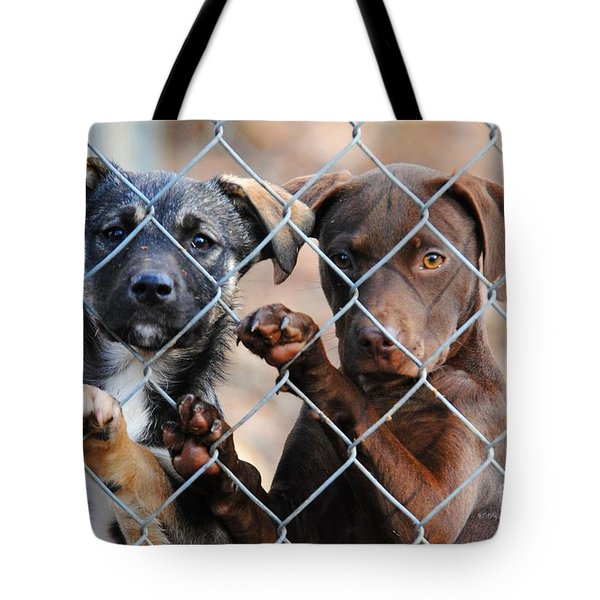 What About Us Tote Bag by Jai Johnson
