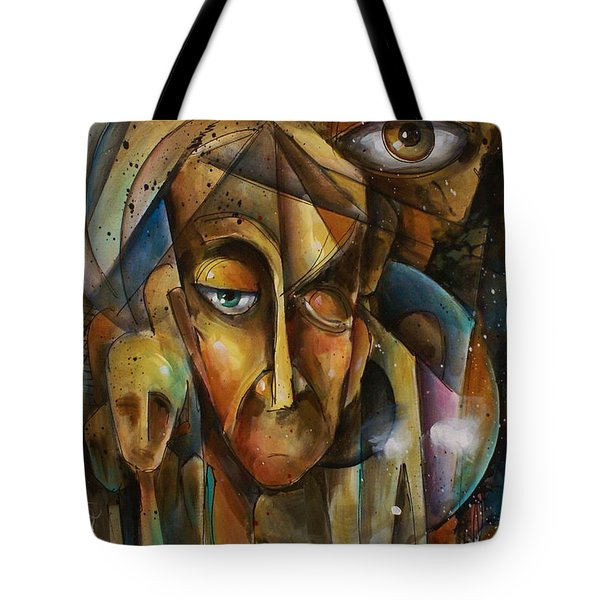 What Tote Bag by Michael Lang