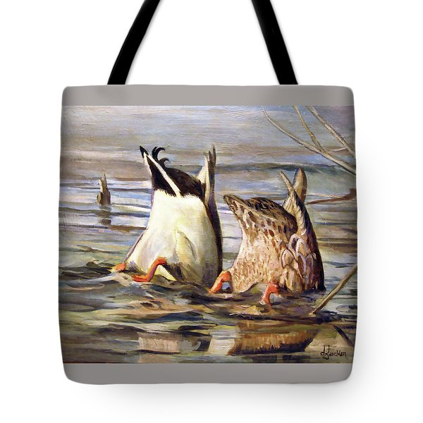 What's Up Tote Bag by Donna Tucker