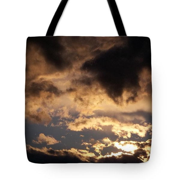 When Heaven Speaks Tote Bag by Glenn McCarthy Art and Photography