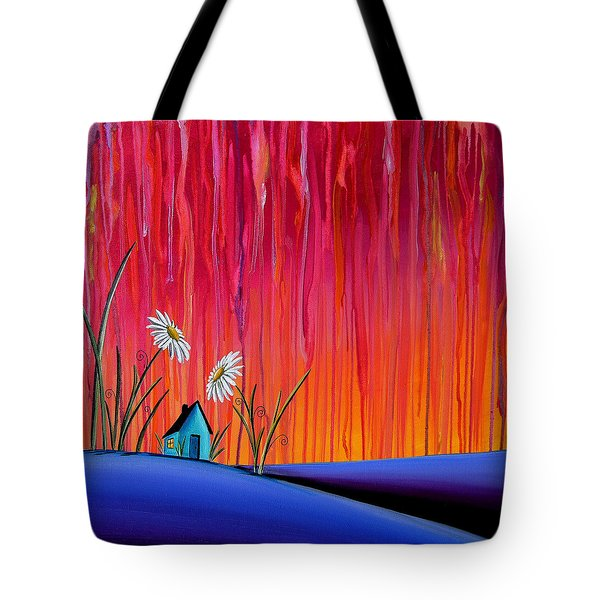 Where Flowers Bloom Tote Bag by Cindy Thornton