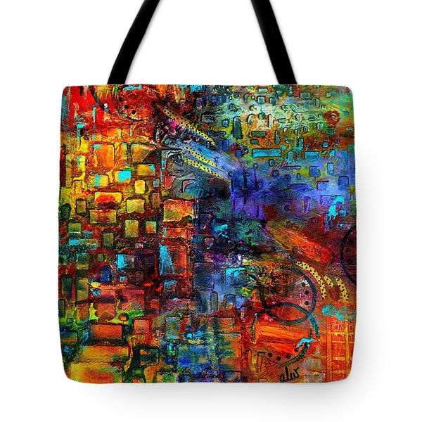 Where Healing Waters Flow Tote Bag by Angela L Walker