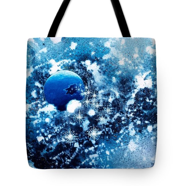 Where Stars Are Born Tote Bag by Lee Pantas