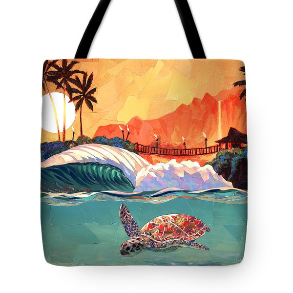 Where You Want To Be Tote Bag by Patrick Parker