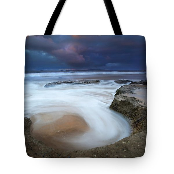 Whirlpool Dawn Tote Bag by Mike  Dawson