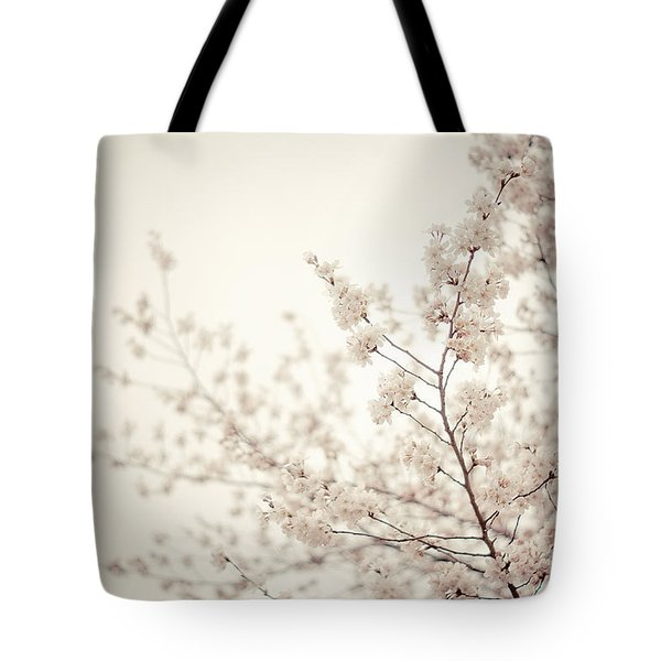 Whisper - Spring Blossoms - Central Park Tote Bag by Vivienne Gucwa
