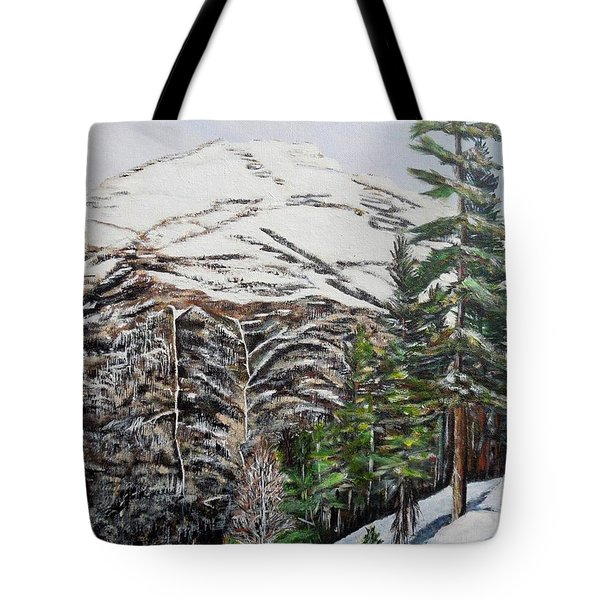 Whispering Pines Tote Bag by Marilyn  McNish