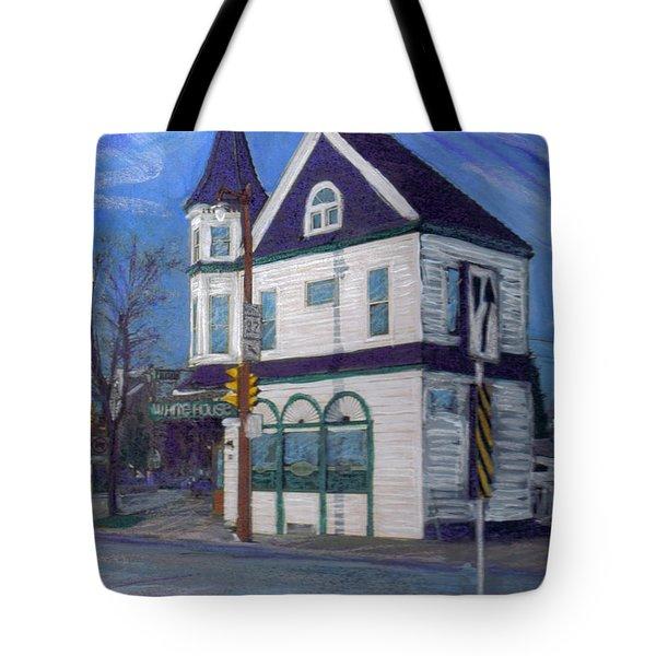 White House Tavern Tote Bag by Anita Burgermeister