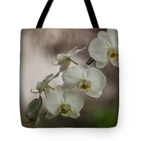 White Of The Evening Tote Bag by Mike Reid