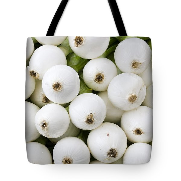 White Onions Tote Bag by John Trax