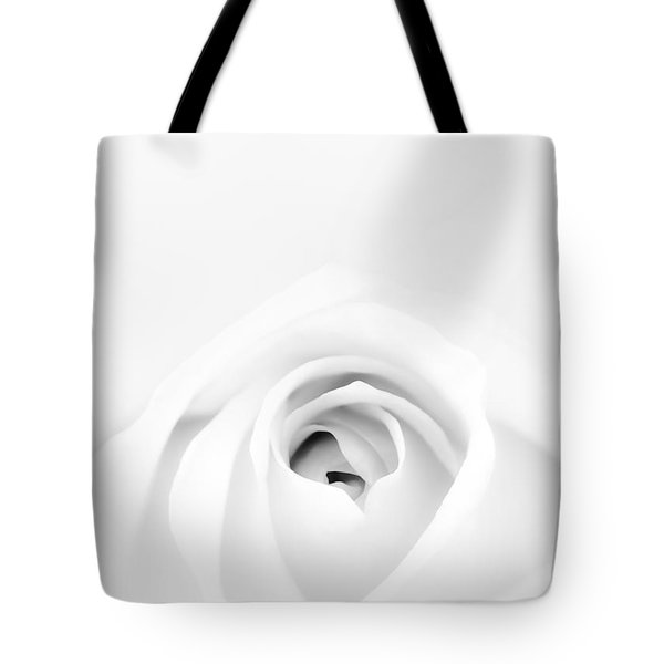 White Rose Tote Bag by Scott Norris