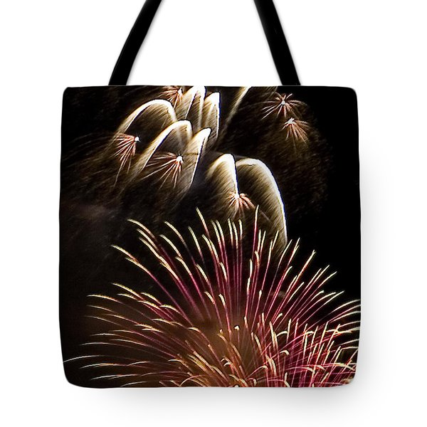 White Trails Tote Bag by David Patterson