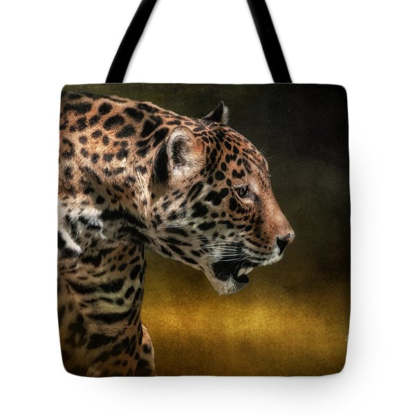 Who Goes There Tote Bag by Lois Bryan