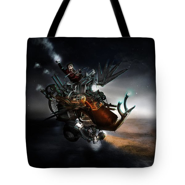 Who Knew What Snails Can Do Tote Bag by Mary Hood