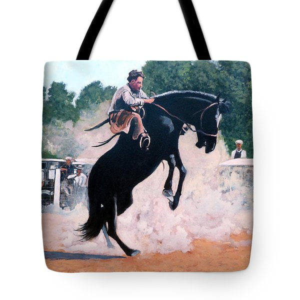 Whoa Nelly Tote Bag by Tom Roderick